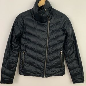 Patagonia women's black goose down jacket size XS